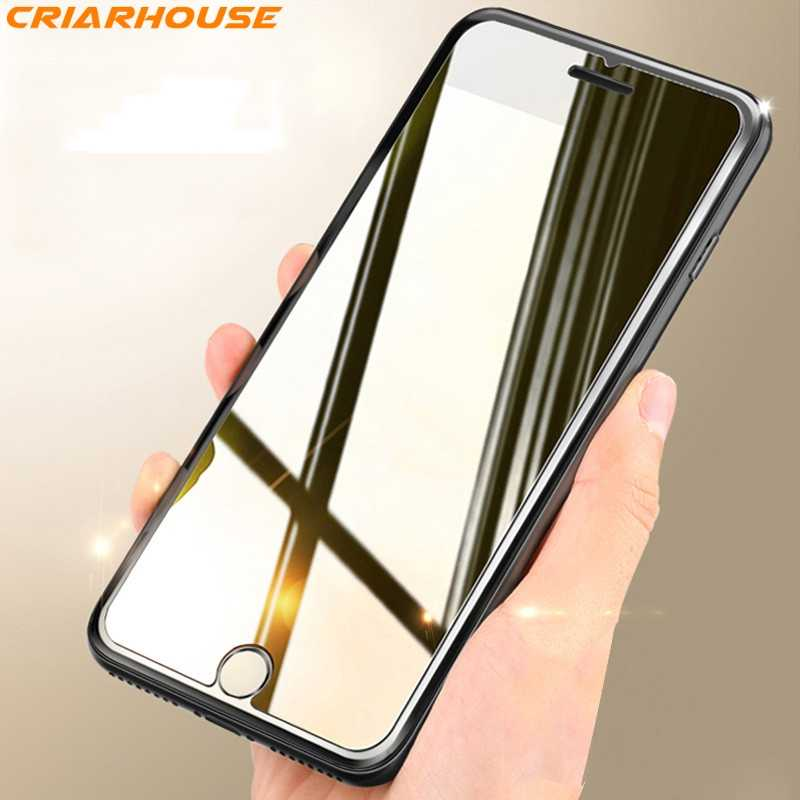 Screen Protectors tempered glass for iphone X XS MAX XR 10 7 8 6S 6 Plus XSMAX 9H hardness safe Shatterproof Thin HD Film