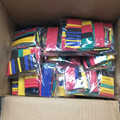 20 упаковок полиолефина Ассорти термоусадочные трубки изоляция усадочная трубка обертывание провода кабель 328 кабельные рукава