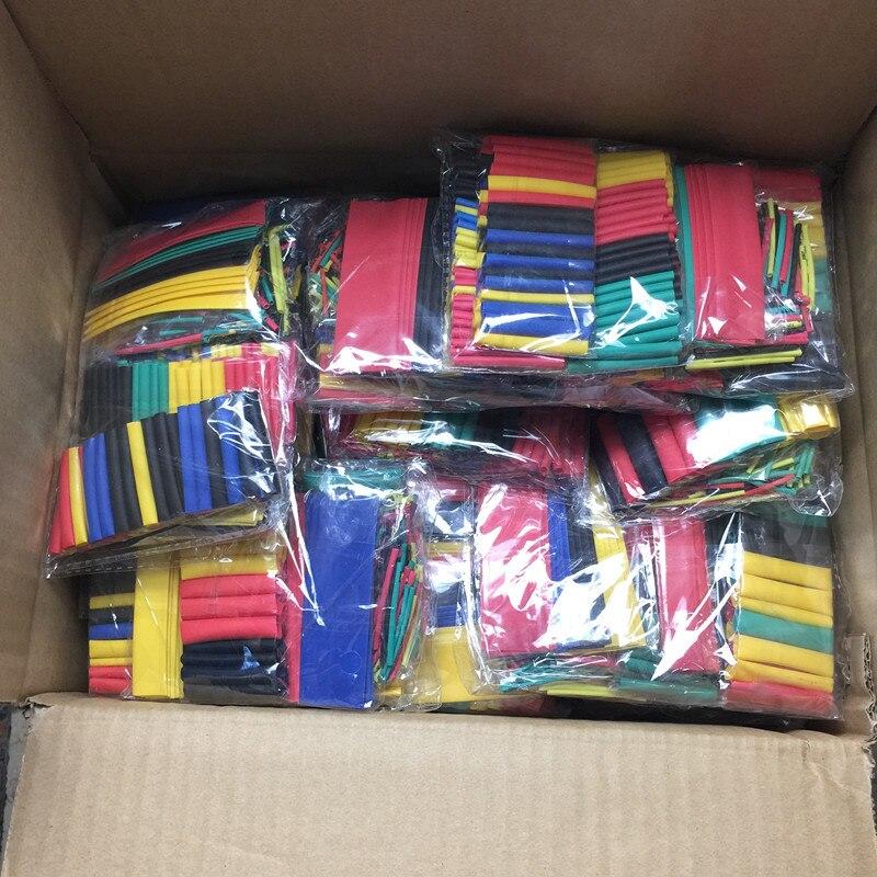 20 pack Polyoléfine Assorties Gaine Thermorétractable Isolation tube rétractable Wrap Fil Câble 328 Câble Manches