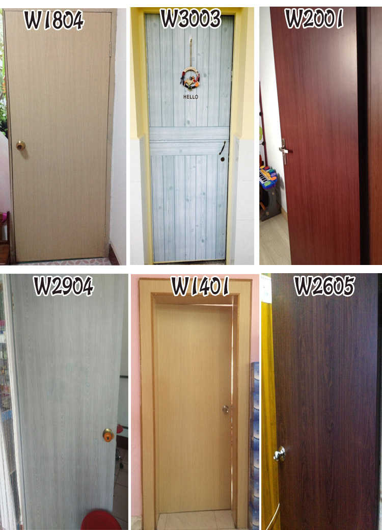 Vinyl Pvc Wood Grain Contact Paper Waterproof Self Adhesive Wallpaper For Kitchen Cabinets Liner Home Decor Door Wall Stickers