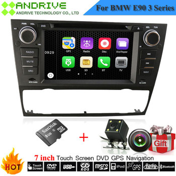 Autoradio mp3 mp4 music DVD player System For BMW 3 Series E90 E91 E92 E93 With GPS Navigation Car Stereo Headunit Free Camera image