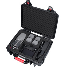Smatree Waterproof Carrying Case for DJI Mavic 2 Pro/DJI Mavic 2 Zoom Fly More Combo,for DJI Smart Controller waterproof hard shell backpack storage box carrying case suitcase silver for dji mavic air fly more combo rc drone fpv