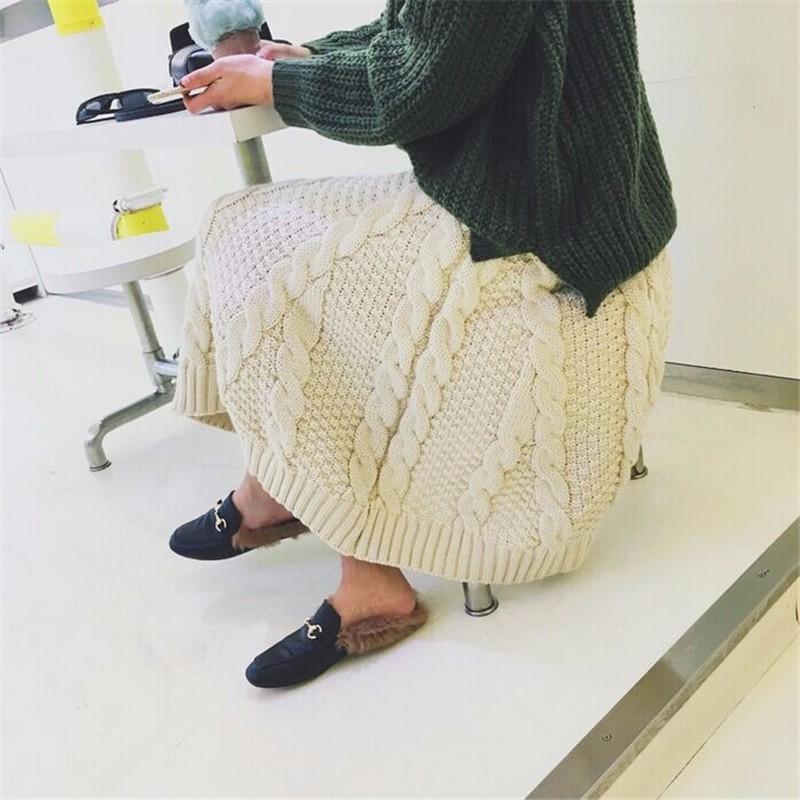 winter thick skirt 09