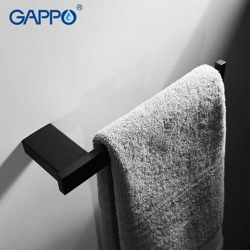 цена на GAPPO Towel Bars wall mounted towel rack holder hanger hanging storage holder bathroom accessories hardware