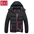 Man Winter Jacket 2016 Warm Coat Thick Parka Chaquetas Plumas Hombre Men Coats Jackets Slim Fit Outwear Casual Clothing 4XL X325