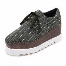 Casual Mode Sneakers vrouwen Platte Platform Schoenen Kurk Vierkante Teen Flock Schoenen Hoge Kwaliteit Maat 34 tot 40women flat platform shoesflat platform shoeswomen flat