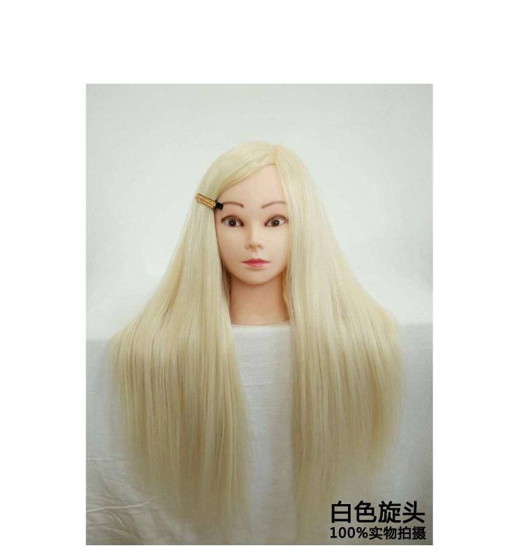 Livraison gratuite!! Tête de Mannequin de formation féminine tête de Mannequins de cheveux avec des cheveux à vendre