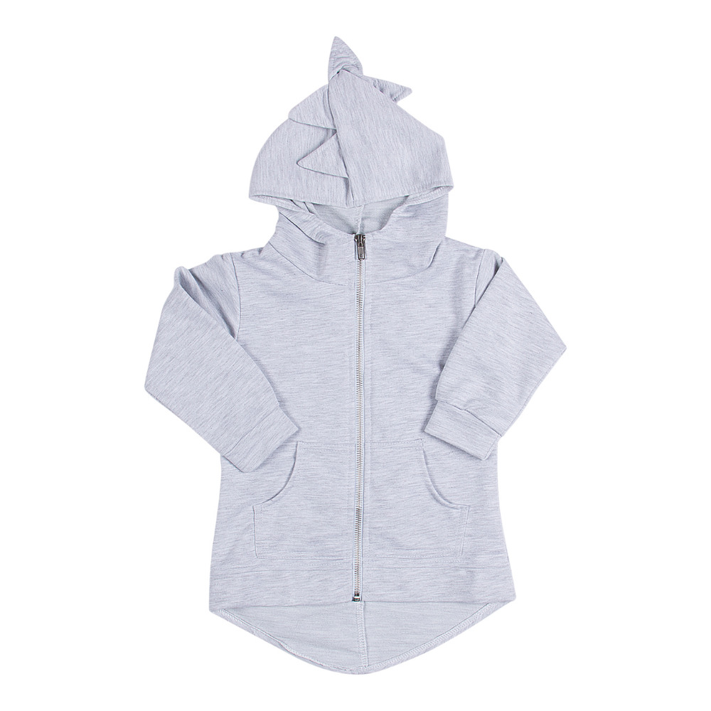 Cotton Kids Boys Girls Dinosaur Clothes Sweatshirt Hoodies Coat Outerwear Kids Autumn Winter Clothes