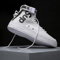Zanvllchy 2018 High Top Sneakers Men Casual Shoes Lace up Breathable White Shoes Fashion Chaussure Homme Trainers Zapatos Hombre