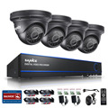 SANNCE 8CH CCTV System 2.0MP 1080P AHD DVR 4PCS Outdoor Night Vision Weatherproof Security Camera Video Surveillance Kits