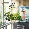 2018 TRAZOS Modern Led Pendant Lamp White Black Painting Metal Pendant Light For Stair Dinning Living