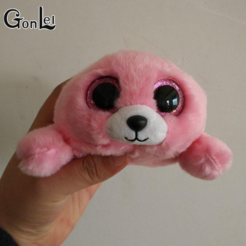 Gonlei Ty Beanie Boo Пьер-розовый печать 6 Большой Средства ухода для век плюшевые игрушки куклы фиолетовый панда подарок для маленьких детей