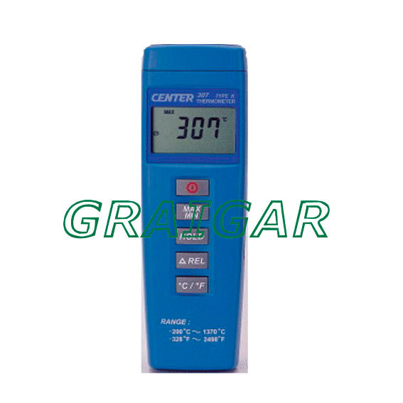 Digital Thermometer Compact Size Thermometer CENTER-307 ,Free shipping infrared thermometer center 358 18 315c with free shipping
