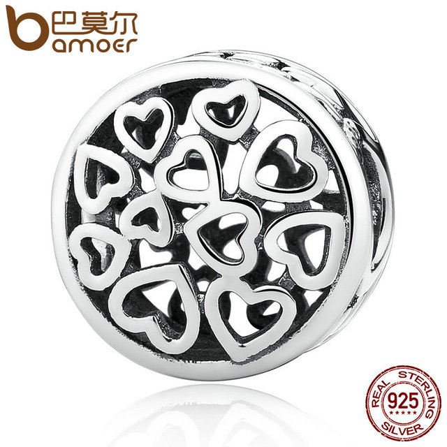 Sterling Silver Loving Sentiments Heart Charm