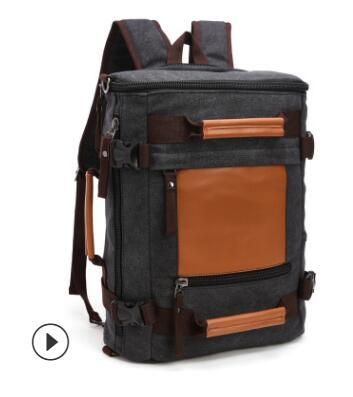 Men canvas backpack  travel Luggage backpack Bag for Men Laptop Mochilas Male Multi Function Backpack For notebook man Rucksack Men canvas backpack  travel Luggage backpack Bag for Men Laptop Mochilas Male Multi Function Backpack For notebook man Rucksack