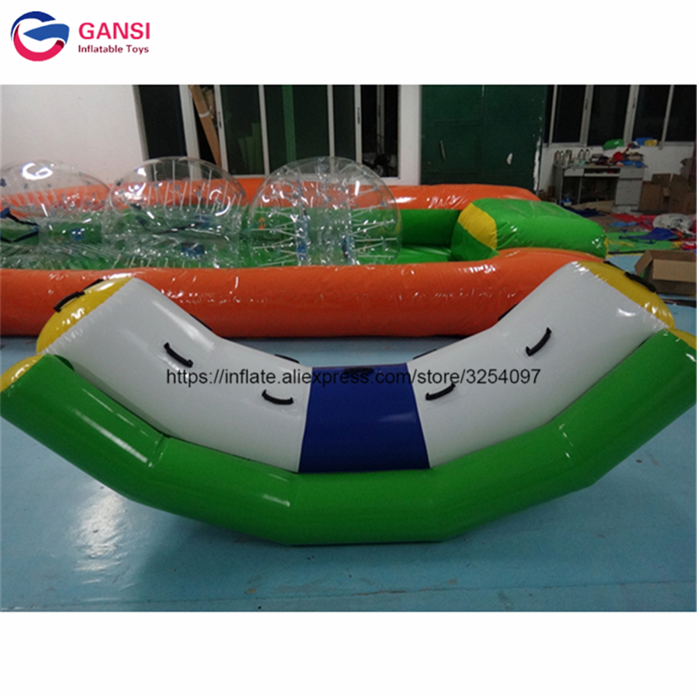 3m*1.2m and 3m*2.2m inflatable water seesaw for sale high quality funny water game equipment floating inflatable water totter 2017 summer funny games 5m long inflatable slides for children in pool cheap inflatable water slides for sale