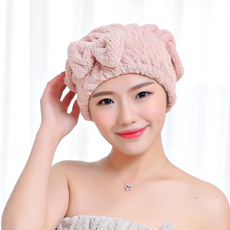 Lady's Magic Hair Drying Towel 5