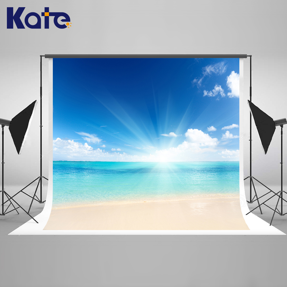Kate 200X300CM Wedding Photography Backdrops Beach Seawater Backdrop Photography Children Backgrounds Beach Background-in Background from Consumer Electronics on AliExpress