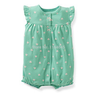 SR1-003,Original, Just Arrived, Baby Girls 1-Piece Set, Sleeveless Romper, Cute Pattern, Super Quality, Free Shipping