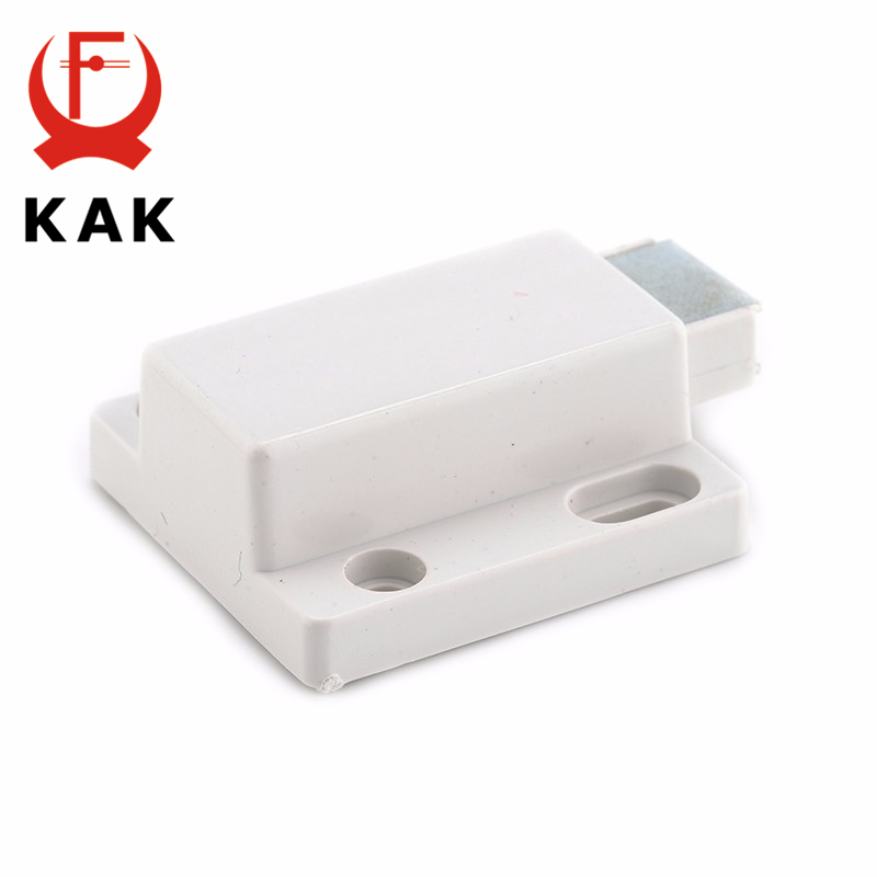 KAK Cabinet Catch Kitchen Door Stopper Drawer Soft Quiet Close Magnetic Push to Open Touch Damper Buffers For Furniture Hardware in Cabinet Catches from Home Improvement