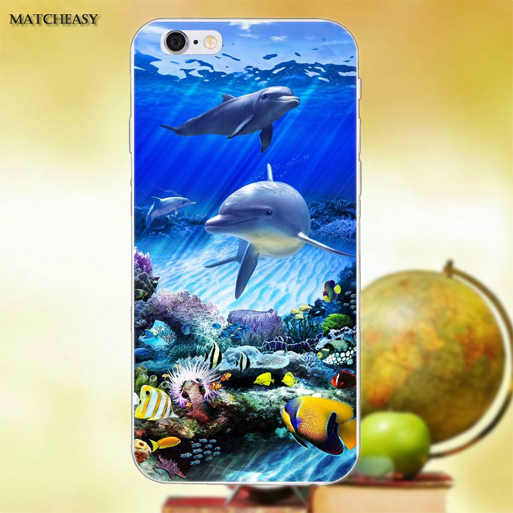 Us 1 99 Soft Cell Case Pastel Sharks Wallpaper Art For Apple Iphone X Xs Max Xr 4 4s 5 5c Se 6 6s 7 8 Plus X In Half Wrapped Cases From Cellphones