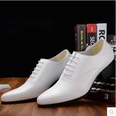 Hot 2017 Men in the spring and autumn of leather shoes British tide with stylist fashionable dress oxfords male small yard 36-44