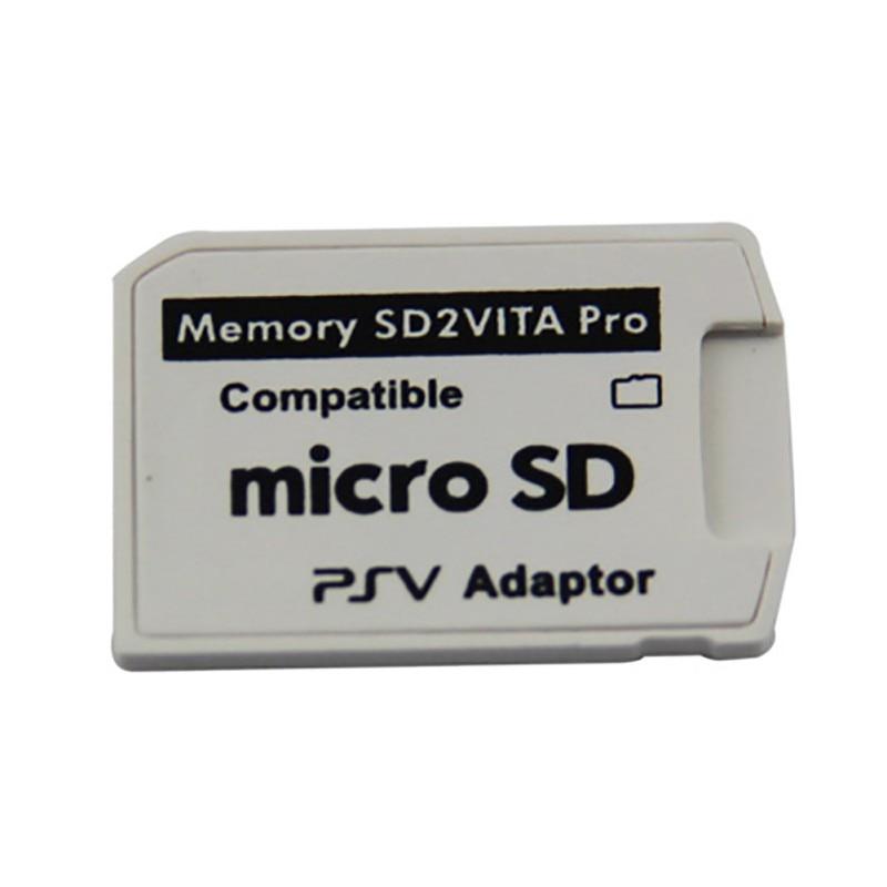 White SD2VITA 5.0/2.0 Adapter Card Box Protection PSV Game Card Converter Case Holder For PSV1000 PSV2000 Case