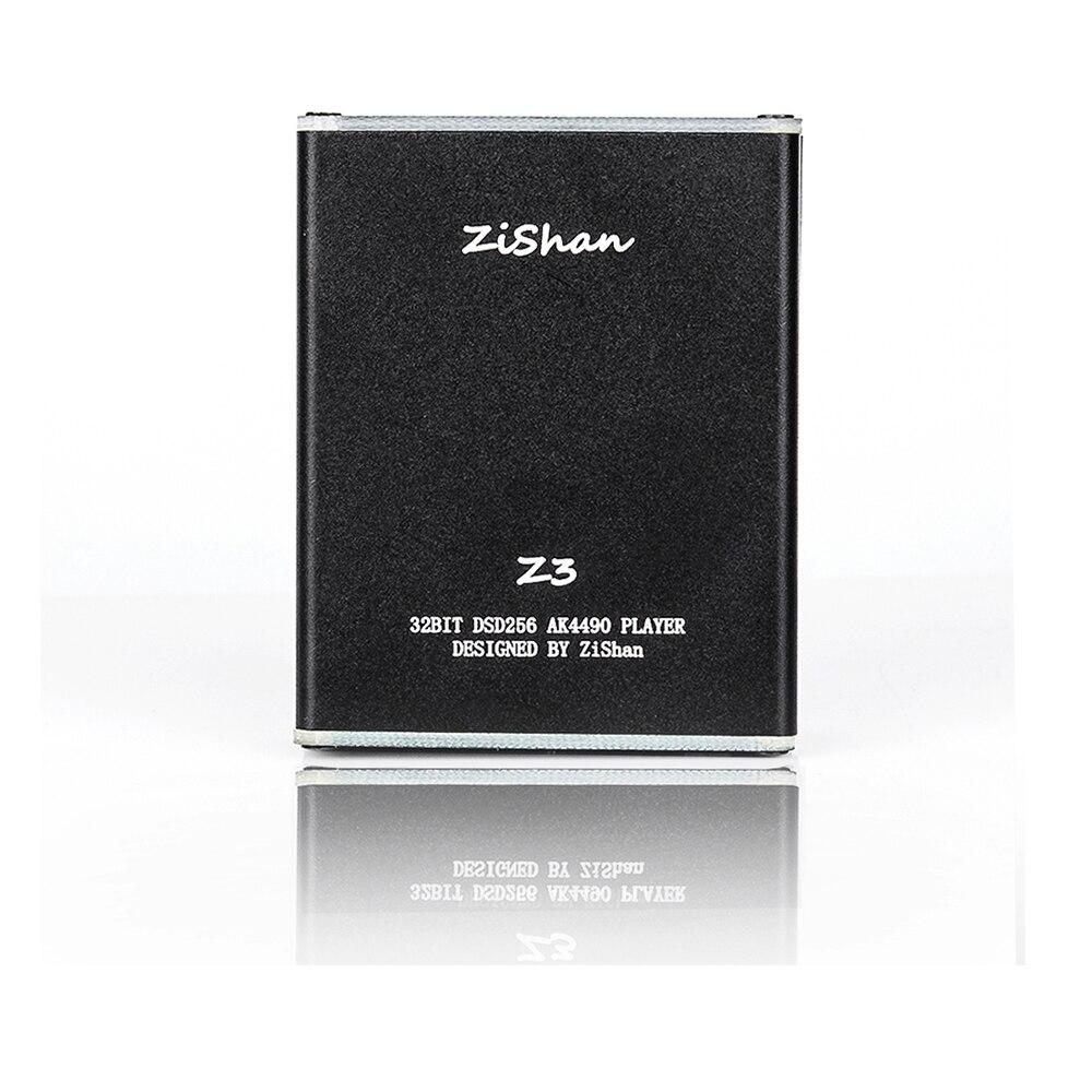 Wooeasy DIY MP3 Zishan Z3 jugador Lossless HiFi reproductor de música soporte amplificador de auriculares DAC AK4490 Z2 versión de actualización con pantalla OLED - 2