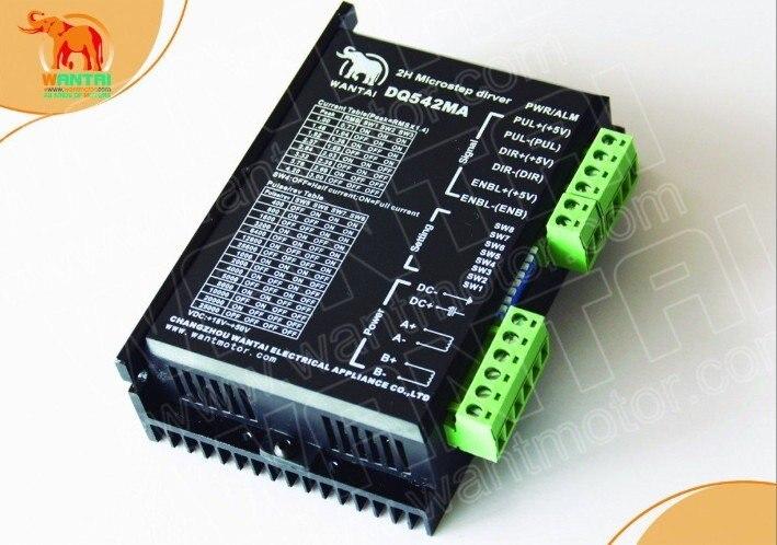 Cnc 4.2A 50VDC, 128 micropas 2ph numérique hybride Micro pas à pas/moteur pas à pas contrôleur de wantai