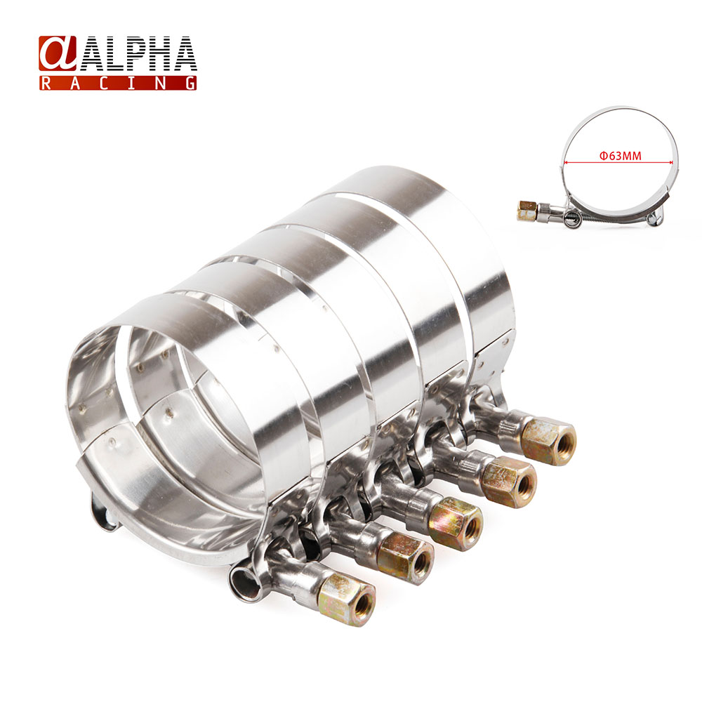 Alpha racing high quality hot sale stainless silicone t