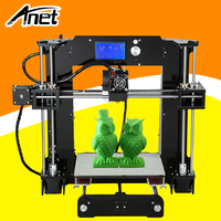 ANET A6 3D Printer Upgraded High Precision 3D Printer Prusa I3 3D Printer Easy Assembly DIY