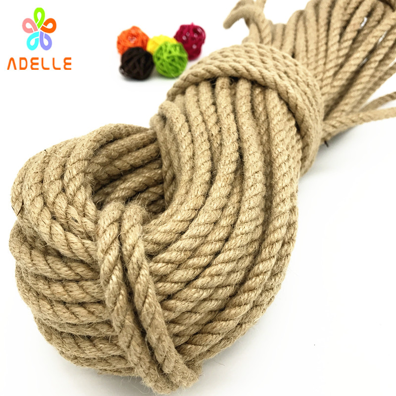 Image 3 - 2 colors twisted shibari bondage jute twine rope 4/5/6mm adult sex toys rope strong DIY gardening free shipping 25m-in Cords from Home & Garden