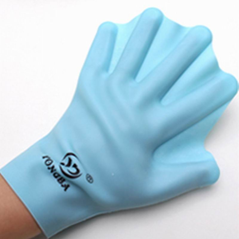 Diving Mittens Diving Gloves Large For Adults Small For Kids Speed Swimming Water Game Tool Like Duck Flippers Color Random