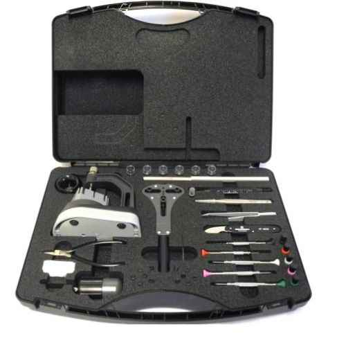BERGEON 7815 Watchmakers Master Service Tool Case Kit Watch Repair