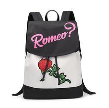 2017 г. Лидер продаж модные женские туфли холст с цветочной вышивкой рюкзак девушки случайные большой Ёмкость школьный рюкзак женский розовый путешествия рюкзак