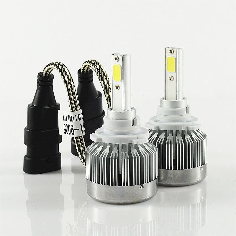 h1 h3 h4 h7 9005 9006 h8 h11 h10 880 30W/pcs 60/set LED HEADLIGHT 6000LM/set 3000LM/bulb HEADLAMP KIT CONVERSION