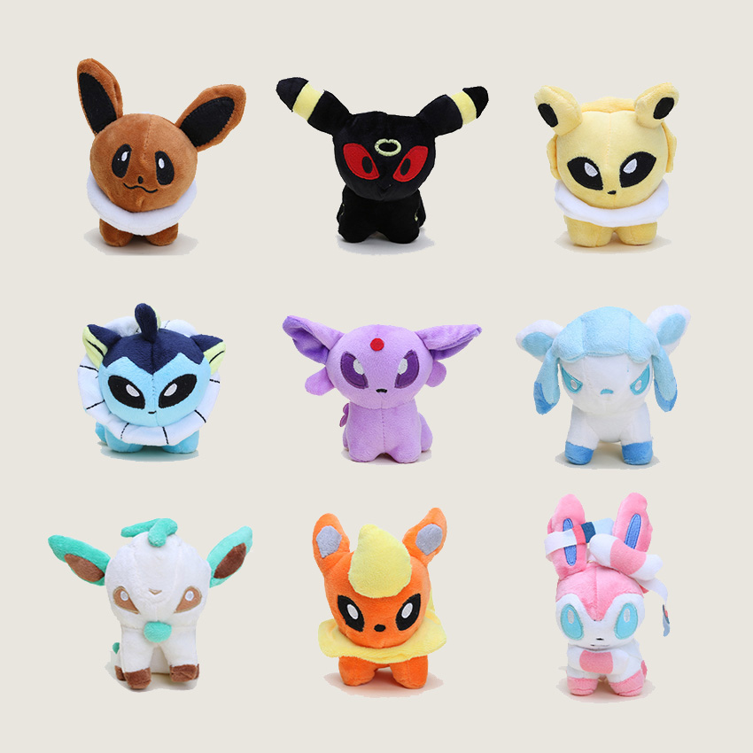 Pocket Doll Sylveon Umbreon Eevee Espeon Jolteon Vaporeon
