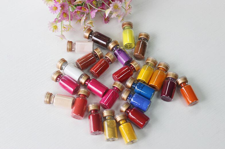 ФОТО 28 colors The Standard Color Card Purity Chemical materials inorganic toner for eye nail polish  face lipstick