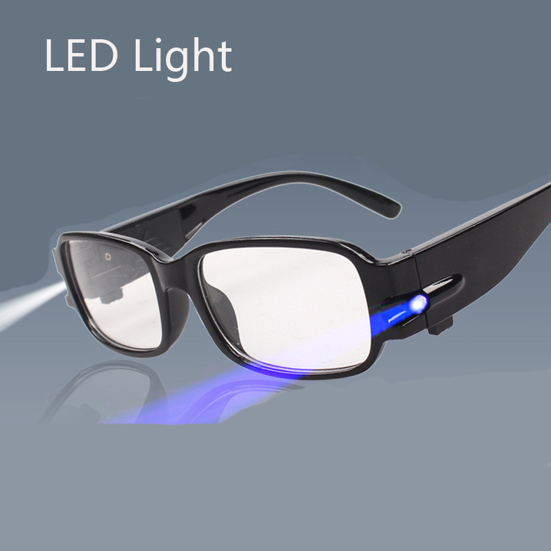 Reading-Glasses Led-Light Diopter Clear Occhiali Lettura Da