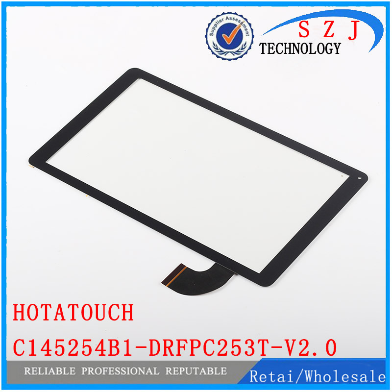 Original 10.1 inch HOTATOUCH C145254B1-DRFPC253T-V2.0 touch screen digitizer glass touch panel Sensor replacement Free Shipping