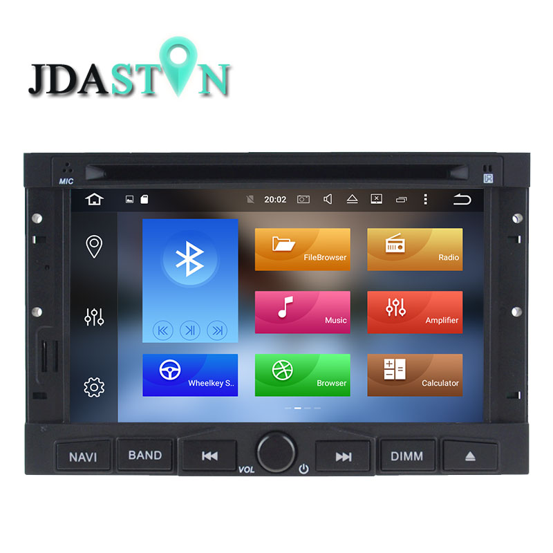 jdaston android 8 0 car dvd player for peugeot 3005 3008 5008 partner berlingo radio audio. Black Bedroom Furniture Sets. Home Design Ideas