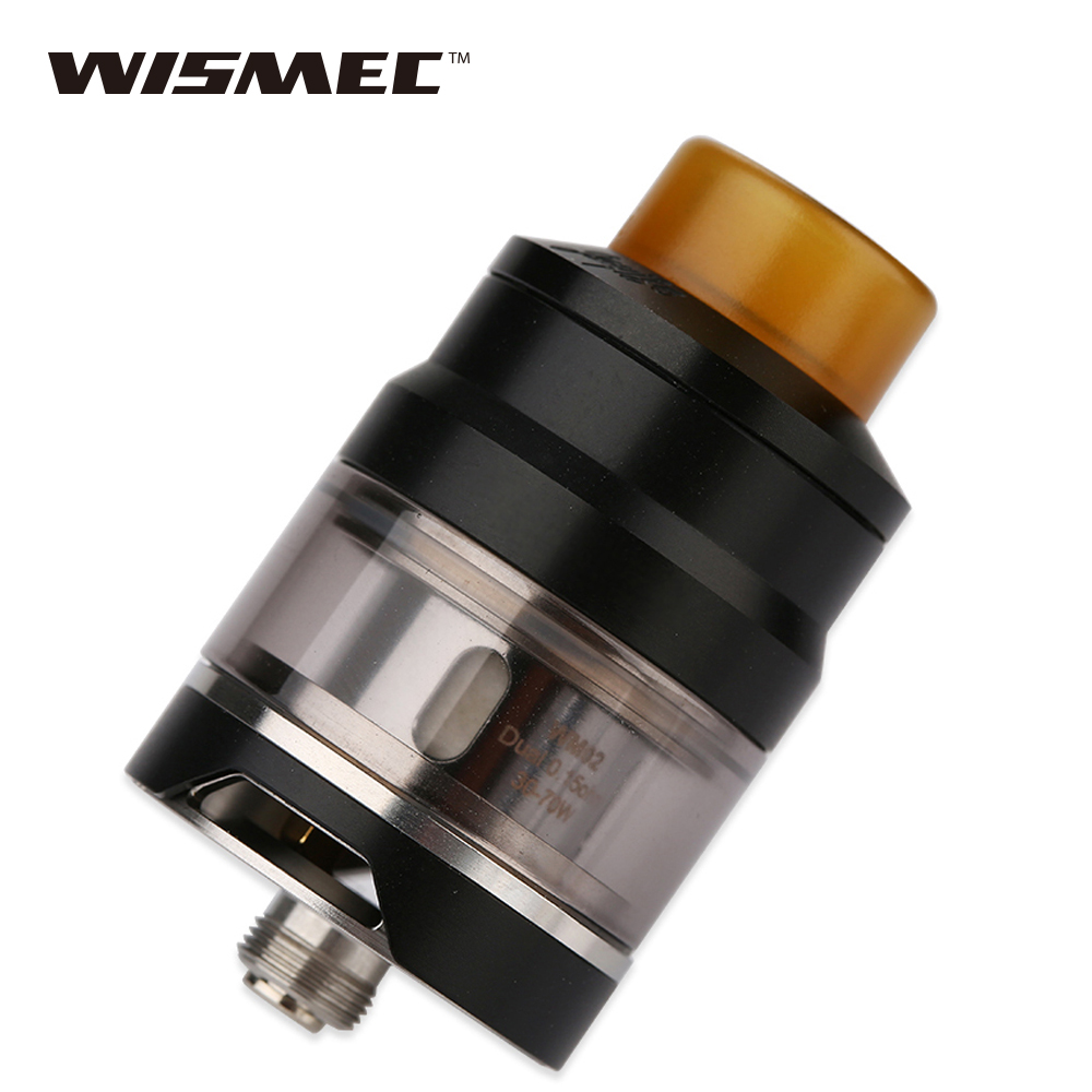 Hot Authentic WISMEC Gnome Sub Ohm Tank 2ml/4ml for Wismec Reuleaux RX GEN3 MOD Top Fill Bottom Airflow Vape tank vs Elabo Tank sub tank