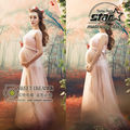 Maternity Photography Fancy Props Pregnant Dresses Chiffon Pregnant Dresses Pregnancy Clothes Plus Size