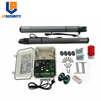 LPSECURITY DC24V remote control swing electric automatic gate opening mechanism200KGS