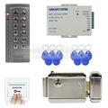 DIYSECUR 125 KHz RFID Door System Access Controller Kit + Electronic Door Lock para Office/Home