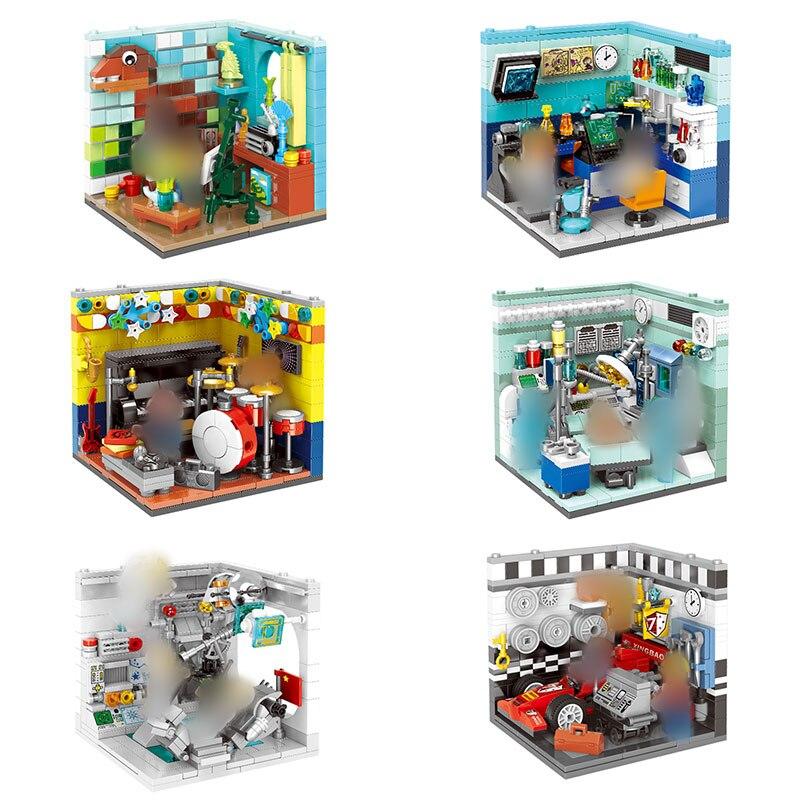 XINGBAO 01402 Genuine Building Series The Future Dreams House Set Building Blocks Bricks Educational Kid Toys As Gifts LegoINGys 72pcs educational building blocks set