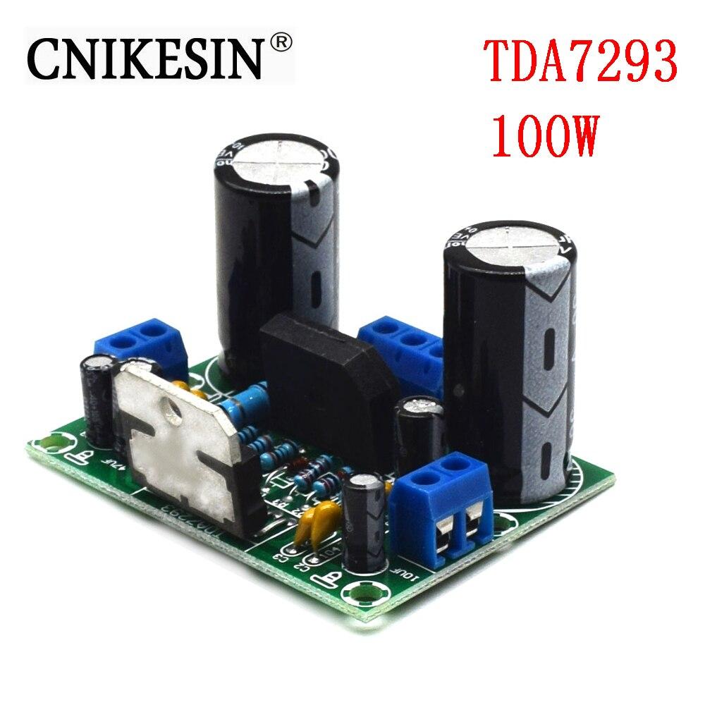 CNIKESIN TDA7293 цифровое аудио; моно усилитель мощности платы 100 Вт двойной широкий супер мощность 12в 32в (H5A5) power 12v power audio amplifier boardaudio amplifier board   АлиЭкспресс