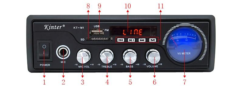 M1 carcasa MP3 fuente 7