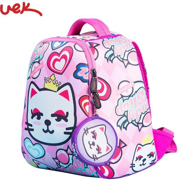 1794cf55c0f4 Children s School Bags Backpacks Girls Bag Animal Printing Kids Backpack  Book Bag 1-3 Years Old Schoolbag SJ014
