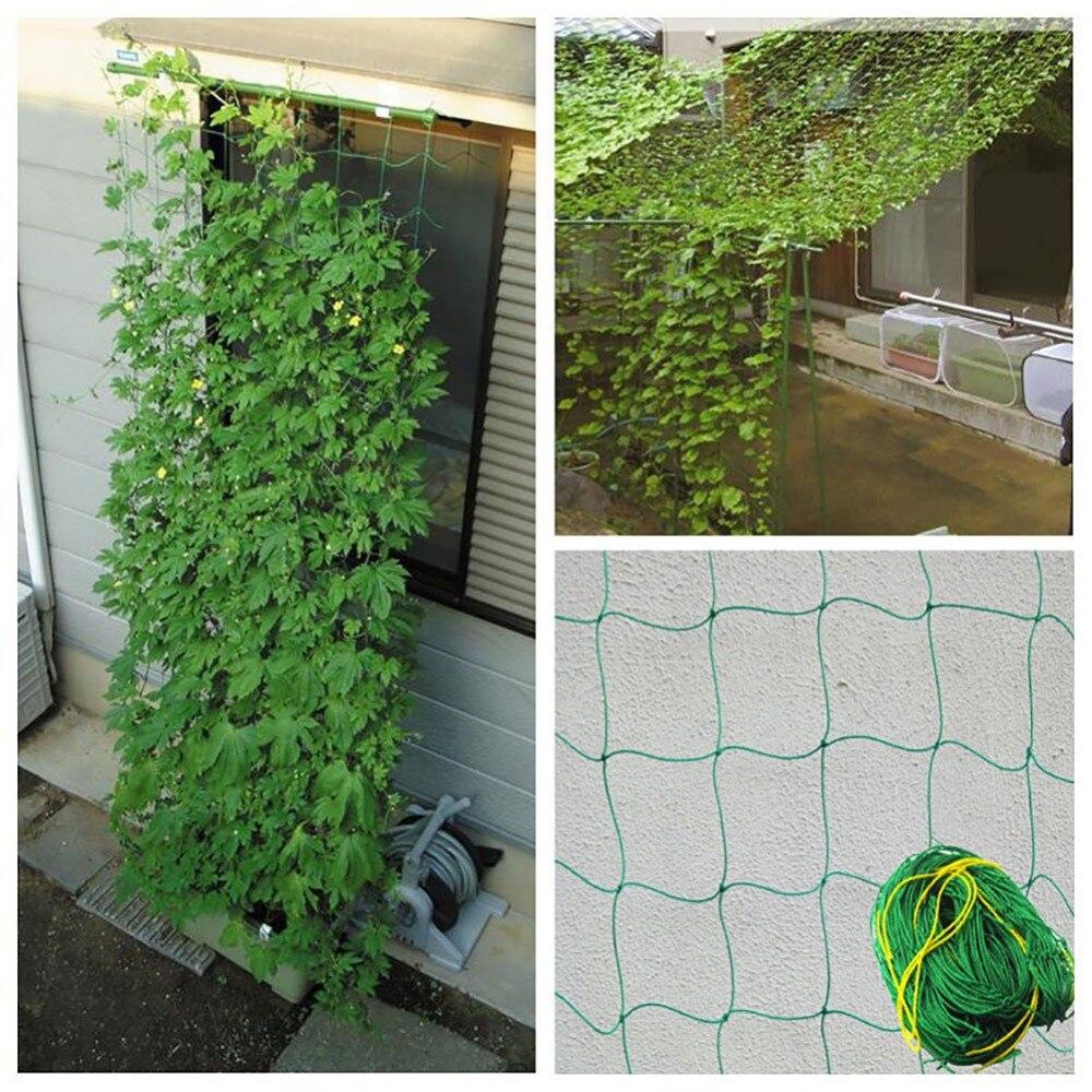 Durable Nylon Trellis Net Garden Netting Plant Support For
